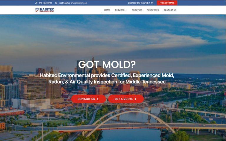 Habitec homepage